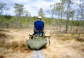 Baerenpfad-Karelien-Finland